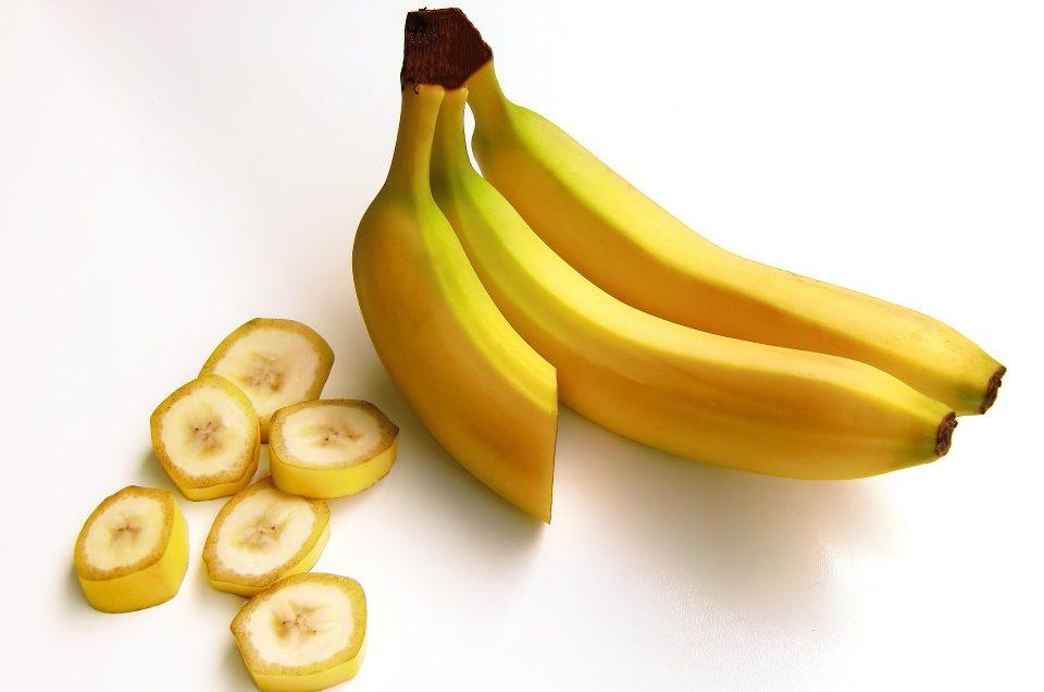 Le masque banane maison 'bonne mine'