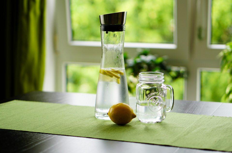 Lotion visage maison fraîcheur de citron