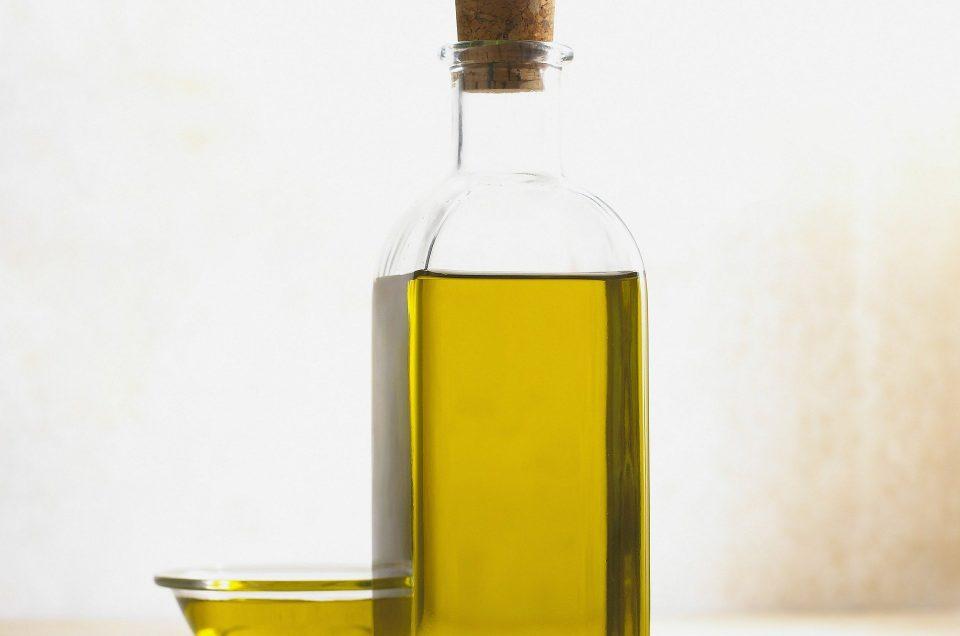 Après rasage maison à l'huile d'Olive pure