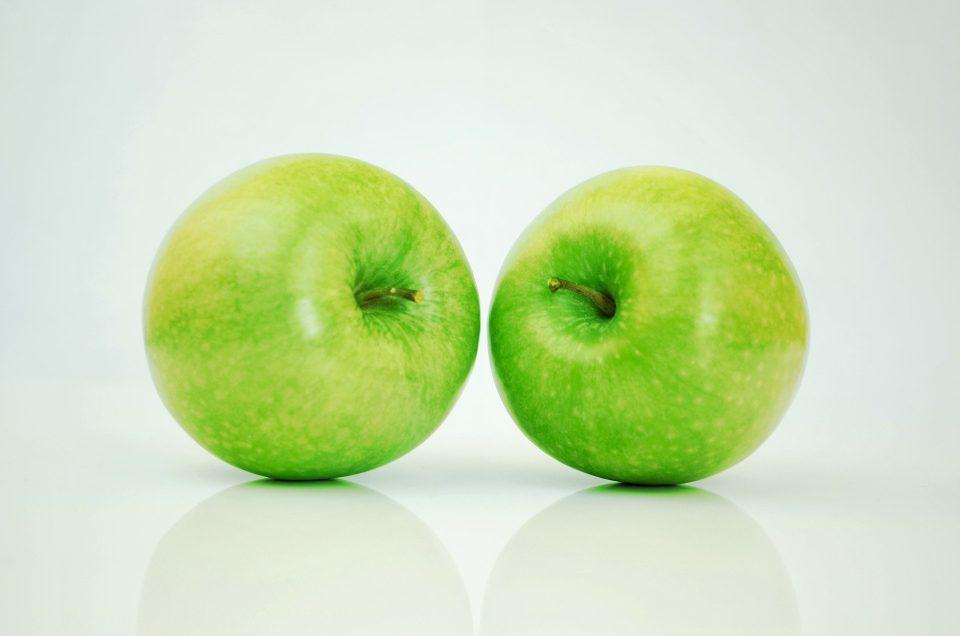 Masque maison revitalisant éclat à la pomme.