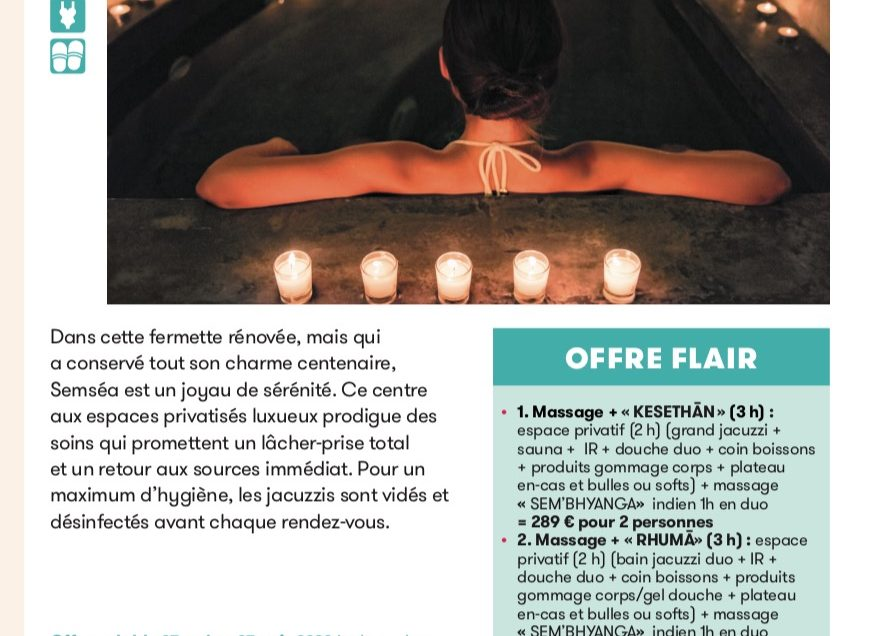 Offre Flair Thalasso