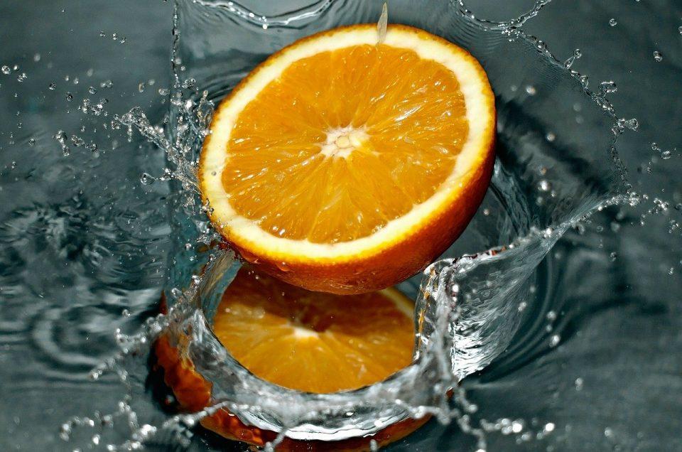 Brume d'oreiller maison à l'orange anti stress