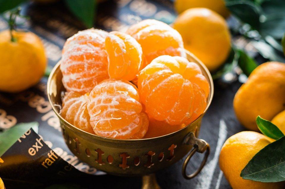 Masque magique lissant à la mandarine, recette maison.